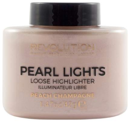 Хайлайтер Makeup Revolution Pearl Lights Loose Highlighter Peach Champagne 42 г