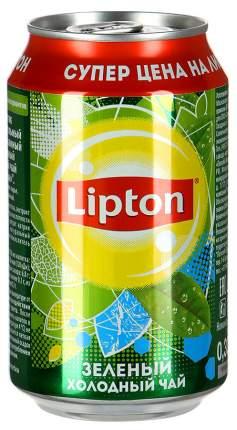 Холодный чай Lipton green tea 0.33 л