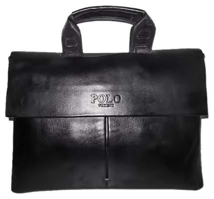 """Сумка для ноутбука 14"""" Polo Simple черная"""