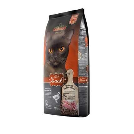 Сухой корм для кошек Leonardo Adult Sensitive, утка и рис, 15кг