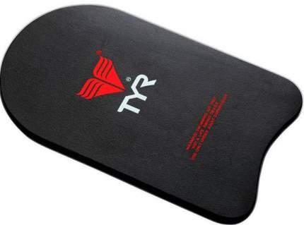 Доска для плавания TYR Kickboard LKB черная (001)