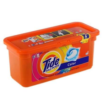 Гель для стирки Tide в растворимых капсулах color 27*24.8 г