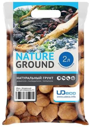 Грунт для аквариума UDeco Stream Orange 30-50 мм 2 л