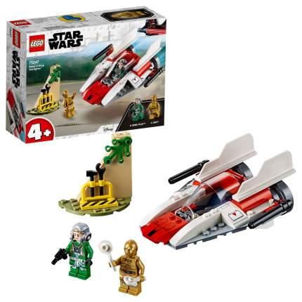 Конструктор LEGO Star Wars 75247 Звёздный истребитель типа А (4+)