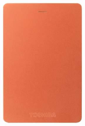 Внешний SSD накопитель Toshiba Canvio Alu 500GB Red (HDTH305ER3AB)