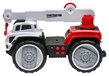 Строительная техника Наша Игрушка Автокран красный 6655-4
