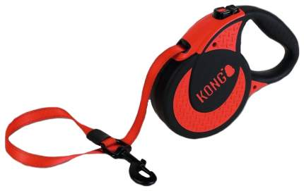 Поводок для собак Kong Ultimate XL красный 5 м до 70 кг