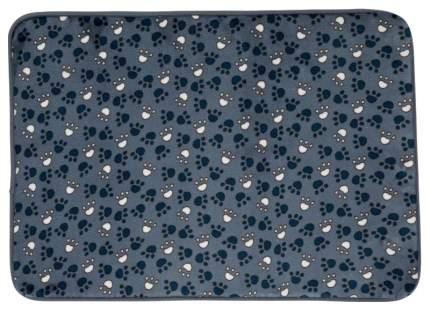 Коврик для кошек и собак TRIXIE Tammy плюш, синий, 90x68 см