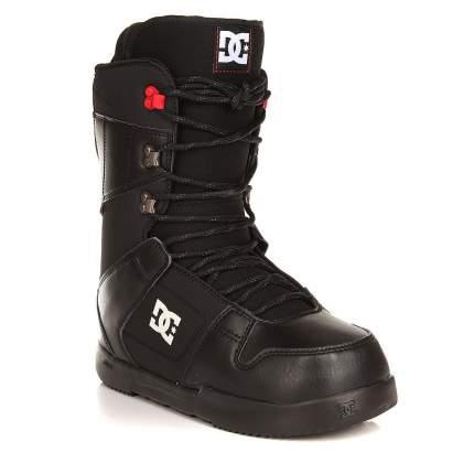 Ботинки для сноуборда DC Phase 2017, black/red, 30.5