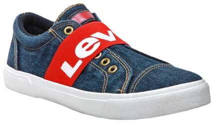 Кеды Levi's Kids blue denim 36 размер