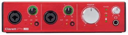 Аудиоинтерфейс Focusrite Clarett 4Pre USB