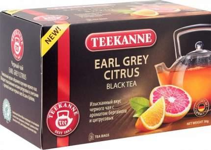 Чай черный Teekanne earl grey citrus 20 пакетиков