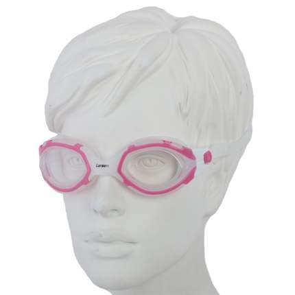 Очки для плавания Larsen S41 розовые/белые