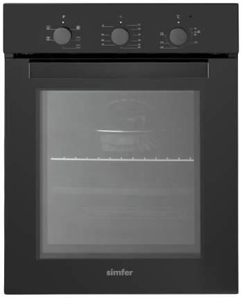 Встраиваемый электрический духовой шкаф Simfer B4EB16011 Black