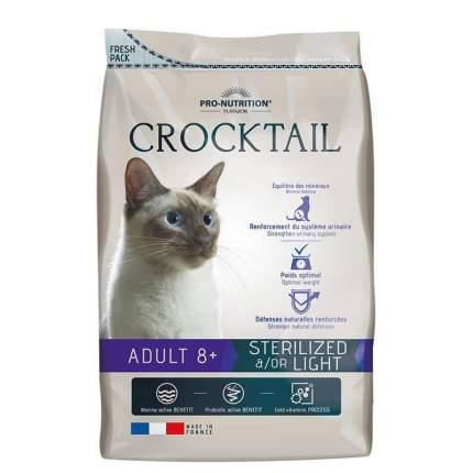 Сухой корм для кошек Flatazor Crocktail Adult STERILIZED 8+, для пожилых, утка, рыба, 10кг