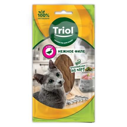 Лакомство для кошек Triol утка 2шт, 0.02кг