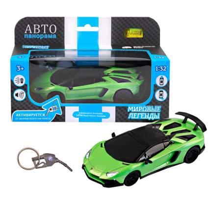 Машинка металлическая Автопанорама 1:32 Lamborghini Aventador LP750 SuperVeloce Roadster