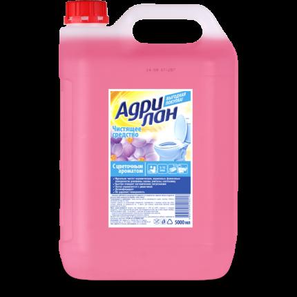 Средство чистящее Адрилан для удаления камня и ржавчины с цветочным ароматом 5 л