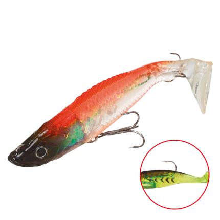 Виброхвост оснащенный Mikado Crystal Fish WXH-59 10 см, 82, 2 шт.