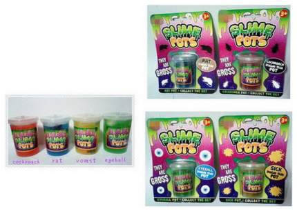 Лизун JUNFA Slime pots XXB-714