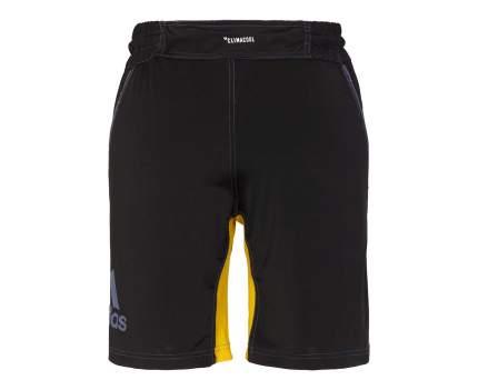 Шорты для единоборств Adidas Training Short MMA черно-желтые M