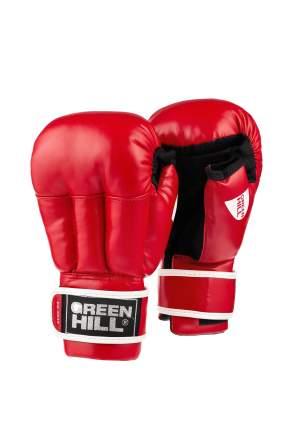Перчатки для рукопашного боя Green Hill PG-2047, к/з, красный (XL)