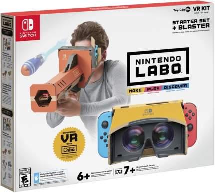 Игра для Nintendo Switch Labo: набор «VR» - стартовый набор + бластер