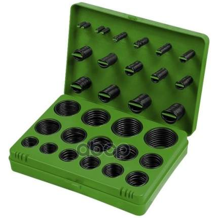 Набор резиновых уплотнительных прокладок, D 7 - 53 мм, 406 предм,// СИБРТЕХ