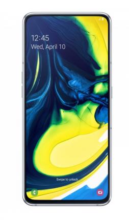 Смартфон Samsung Galaxy A80 (2019) 128Gb Silver