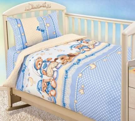 Постельное белье ясельное Текс-Дизайн Нежный сон с мишками