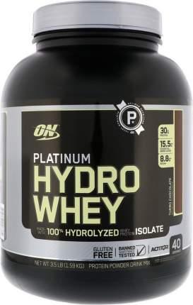 Протеин Optimum Nutrition Platinum HydroWhey, 1590 г, turbo chocolate