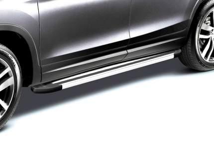 Комплект алюминиевых порогов Arbori Luxe Silver 1700 для NISSAN X-Trail 2015-2019