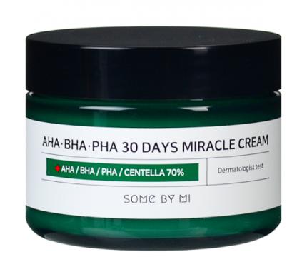 Крем для лица Some By Mi AHA/BHA/PHA 30 Days Miracle Cream 50 мл