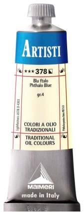 Масляная краска Maimeri Artisti голубой 40 мл