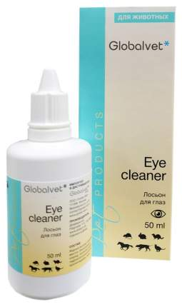 Лосьон для очищения глаз животных Globalvet Eye cleaner, 50 мл