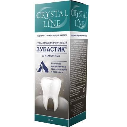 Гель стоматологический для кошек и собак Api-San Crystal Line Зубастик, 30 мл