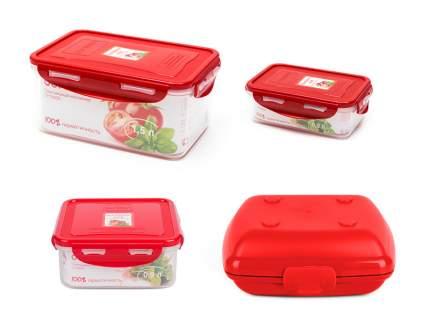 Набор пластиковых контейнеров CP05030915LB14/RD