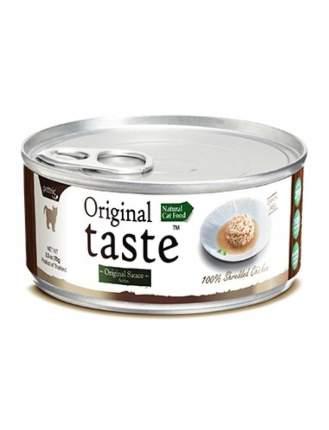 Консервы для кошек и котят Pettric Original Taste, с тунцом и курицей, 70г