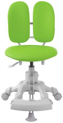Кресло Duorest KIDS DR-289SG (цвет обивки: зеленый, цвет каркаса: белый)