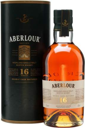 Виски  Aberlour 16 Years Old Double Cask in tube 0.7 л