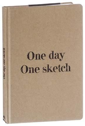 Скетчбук One day one sketch Эксмо 978-5-04-088670-8