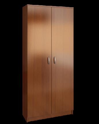 Платяной шкаф MFMaster Ольга (898) МСТ-ПДО-Ш2-ОР-98 89х35х200, орех