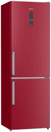 Холодильник Gorenje NRK6192MR Red