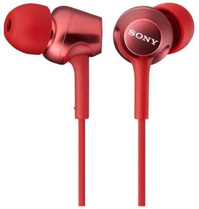 Наушники Sony MDR-EX250AP Red