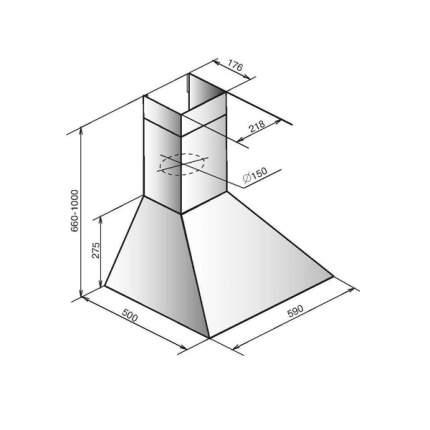 Вытяжка купольная ELIKOR 60П-650-П3Л White