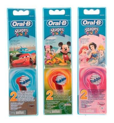 Насадка для электрической зубной щетки Oral-B EB10K Stages Kids 2 шт.