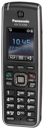 Телефон DECT Panasonic KX-TCA185RU черный