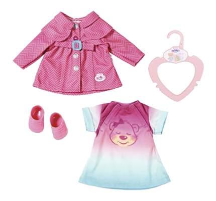 Комплект одежды для куклы Zapf Creation для прогулки 32 см