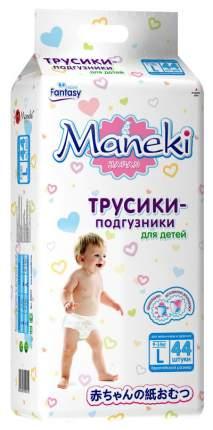 Подгузники Maneki Fantasy L (9-14 кг), 44 шт.