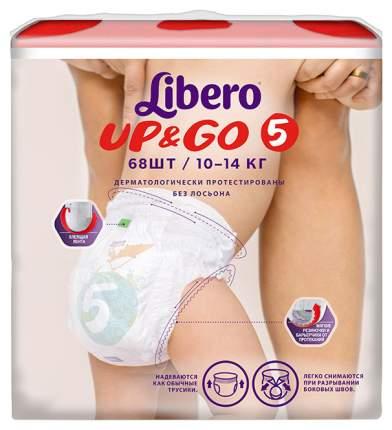 Подгузники Libero Up&Go Junior 5 (10-14 кг), 68 шт.